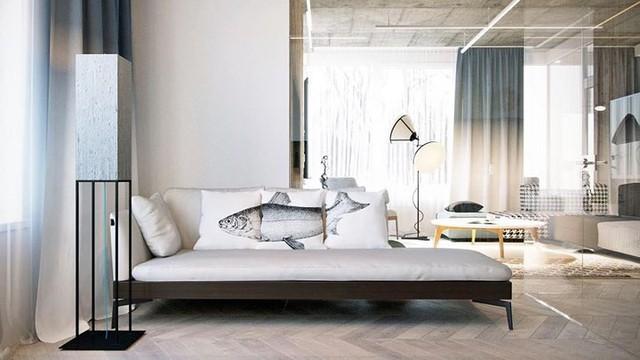 Không cần tô trát, ngôi nhà vẫn mang phong cách đẹp hiện đại - Ảnh 5.