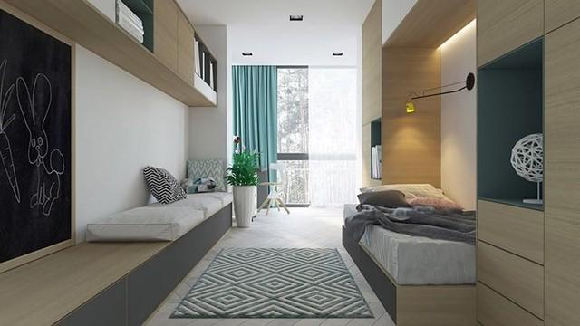 Không cần tô trát, ngôi nhà vẫn mang phong cách đẹp hiện đại - Ảnh 7.
