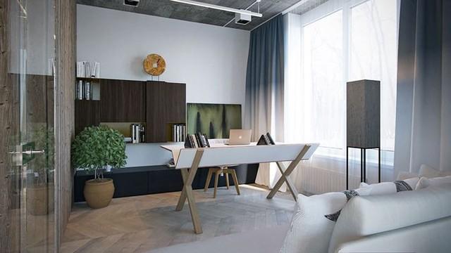 Không cần tô trát, ngôi nhà vẫn mang phong cách đẹp hiện đại - Ảnh 8.