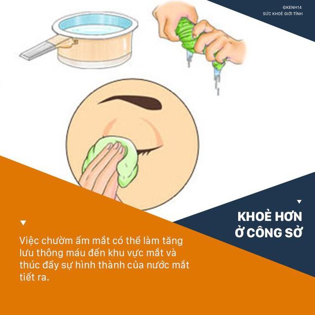 Hội văn phòng nên thuộc nằm lòng 6 cách giảm bớt tình trạng khô mắt ngay sau đây - Ảnh 3.
