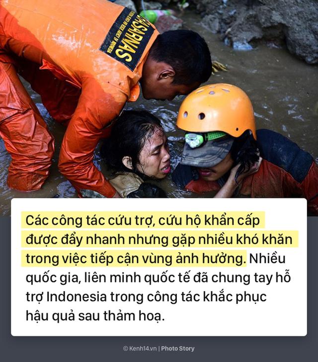 Toàn cảnh thảm hoạ kép động đất sóng thần đã tàn phá Indonesia những ngày vừa qua - Ảnh 3.