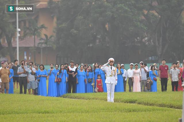 Lễ thượng cờ rủ quốc tang cố Tổng Bí thư Đỗ Mười - Ảnh 13.