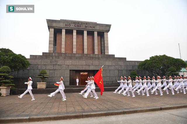 Lễ thượng cờ rủ quốc tang cố Tổng Bí thư Đỗ Mười - Ảnh 14.