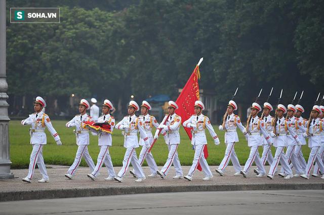 Lễ thượng cờ rủ quốc tang cố Tổng Bí thư Đỗ Mười - Ảnh 3.