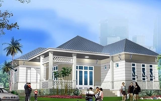 Tham khảo 10 mẫu biệt thự hiện đại, chi phí xây dựng dưới 1,5 tỷ đồng - Ảnh 4.