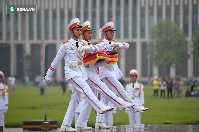Lễ thượng cờ rủ quốc tang cố Tổng Bí thư Đỗ Mười - Ảnh 5.