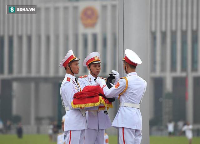 Lễ thượng cờ rủ quốc tang cố Tổng Bí thư Đỗ Mười - Ảnh 6.