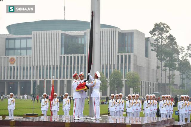 Lễ thượng cờ rủ quốc tang cố Tổng Bí thư Đỗ Mười - Ảnh 7.