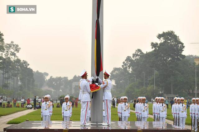 Lễ thượng cờ rủ quốc tang cố Tổng Bí thư Đỗ Mười - Ảnh 8.