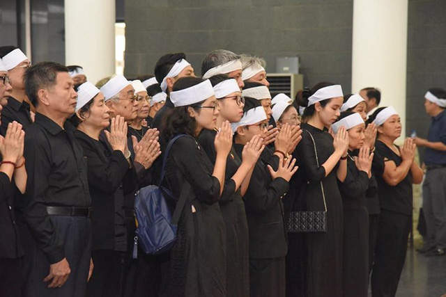 Hình ảnh xúc động trong Lễ tang nguyên Tổng Bí thư Đỗ Mười - Ảnh 2.