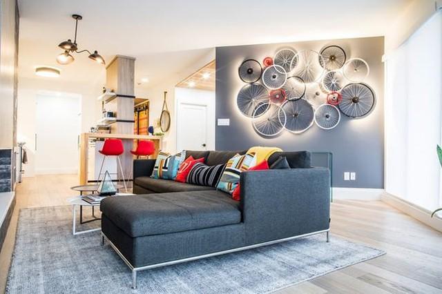 Sáng tạo thiết kế đèn LED khiến căn nhà thêm sang trọng - Ảnh 15.