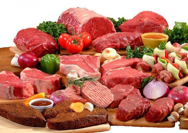 Người bị u xơ, u nang nên hạn chế các loại thịt đỏ như thịt bò, thịt cừu,...