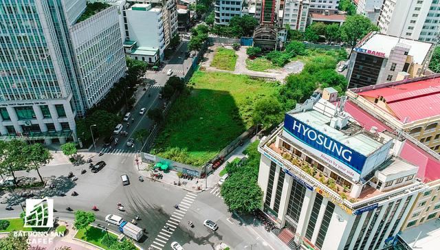 [Video] Toàn cảnh khu đất vàng 2 – 4 – 6 Hai Bà Trưng: Từ dự án địa ốc khách sạn 6 sao đến Sài Gòn Mê Linh Tower, nhưng vẫn là khu đất trống - Ảnh 4.