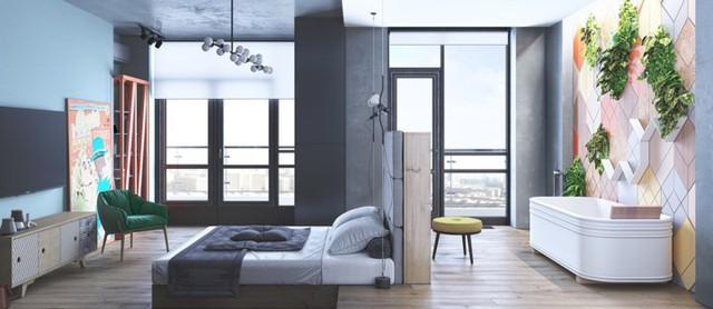 Mẫu phòng ngủ sáng tạo dành cho thanh thiếu niên - Ảnh 13.