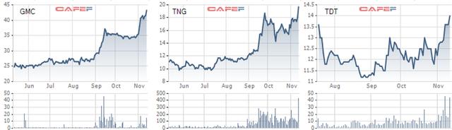 Hàng loạt cổ phiếu dệt may lập đỉnh mới bất chấp thị trường chứng khoán ảm đạm