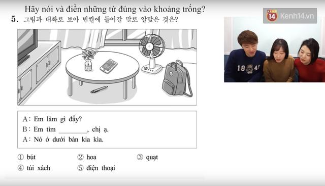 Thử sức với đề thi môn Tiếng Việt trong kỳ thi Đại học ở Hàn Quốc: Tưởng không khó mà khó không tưởng - Ảnh 4.