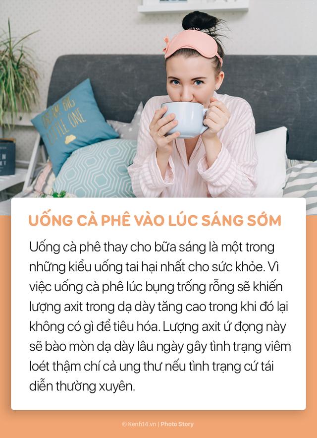 Đừng nghĩ rằng bạn đã biết uống cà phê đúng cách, không làm ảnh hưởng tới sức khoẻ - Ảnh 6.