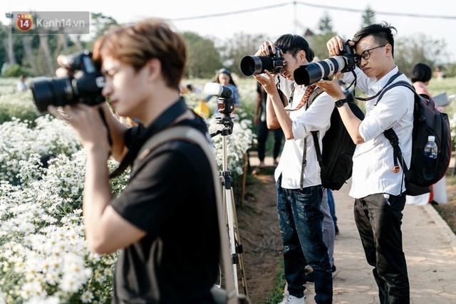 Vườn cúc hoạ mi ở Hà Nội thất thủ cuối tuần: 1 mét vuông có chục nhiếp ảnh gia và mẫu - Ảnh 18.