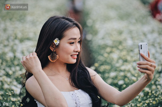 Vườn cúc hoạ mi ở Hà Nội thất thủ cuối tuần: 1 mét vuông có chục nhiếp ảnh gia và mẫu - Ảnh 22.