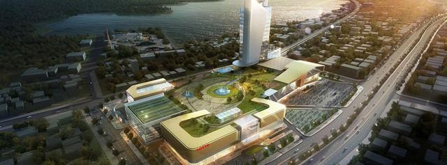 Về tay đại gia Hàn Quốc, đại siêu thị lớn nhất Hà Nội đang rục rịch triển khai - Ảnh 3.
