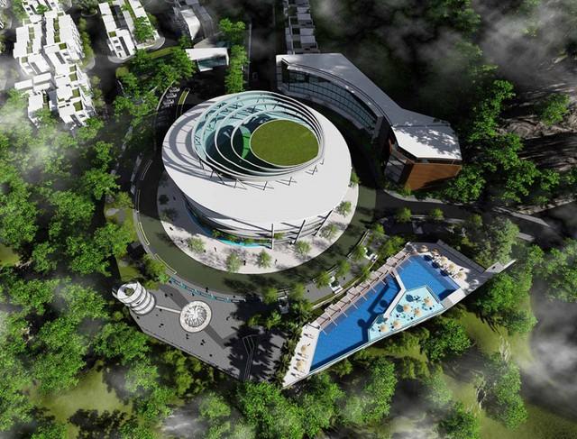 Bom nước vỡ, 4 người chết ở Khánh Hòa: Sở Xây dựng nói không có hồ bơi, chủ đầu tư nói hồ bơi là mương đón nước - Ảnh 3.