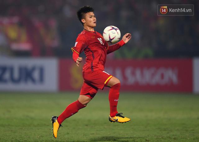 5 cầu thủ có số đường chuyền chính xác cao nhất ĐT Việt Nam ở AFF Cup 2018: Quang Hải đứng đầu, Xuân Trường xếp cuối - Ảnh 6.