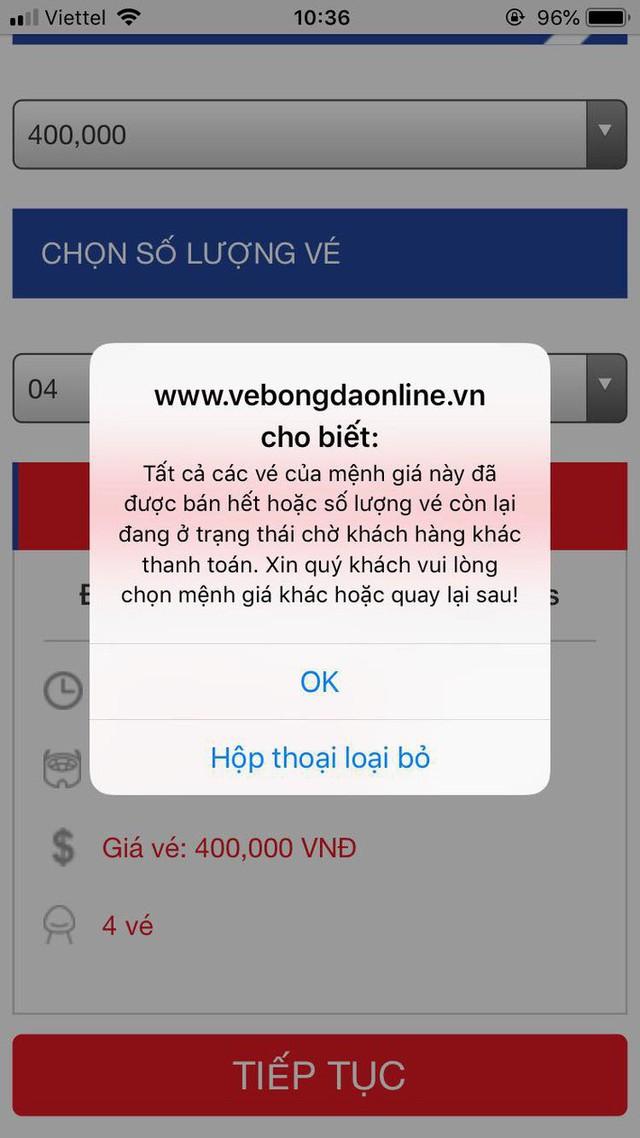 Tin chính thức từ VFF: Mới bán hết 5.000 vé, vẫn còn 15.000 cơ hội cho CĐV - Ảnh 1.