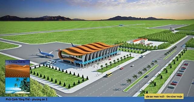 Điều chỉnh nghiên cứu khả thi sân bay Phan Thiết - Ảnh 1.