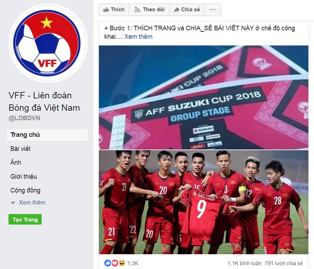 Cảnh báo: Xuất hiện Fanpage Liên đoàn bóng đá Việt Nam giả, tạo sự kiện tặng vé trận Việt Nam vs Philippines - Ảnh 1.