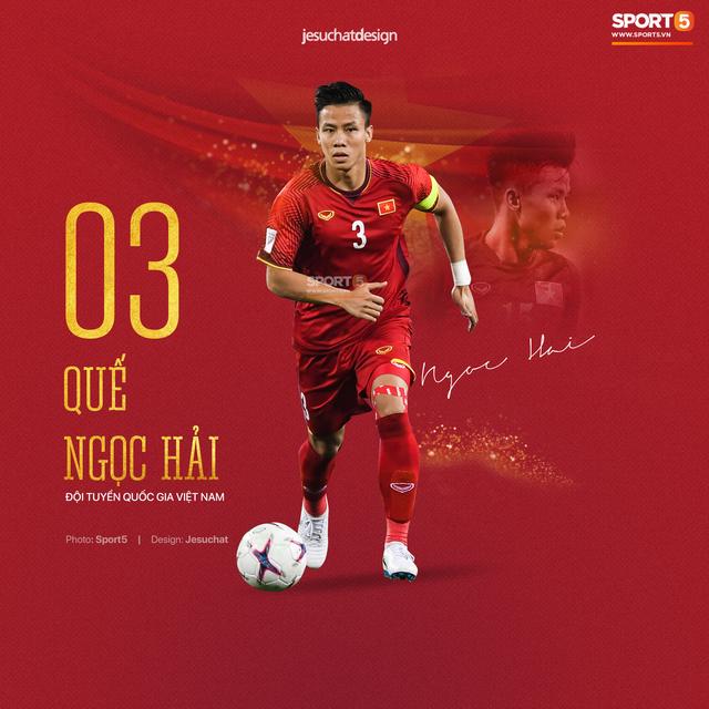Info long lanh của 23 nhà vô địch AFF Cup 2018, những người hùng dân tộc - Ảnh 3.