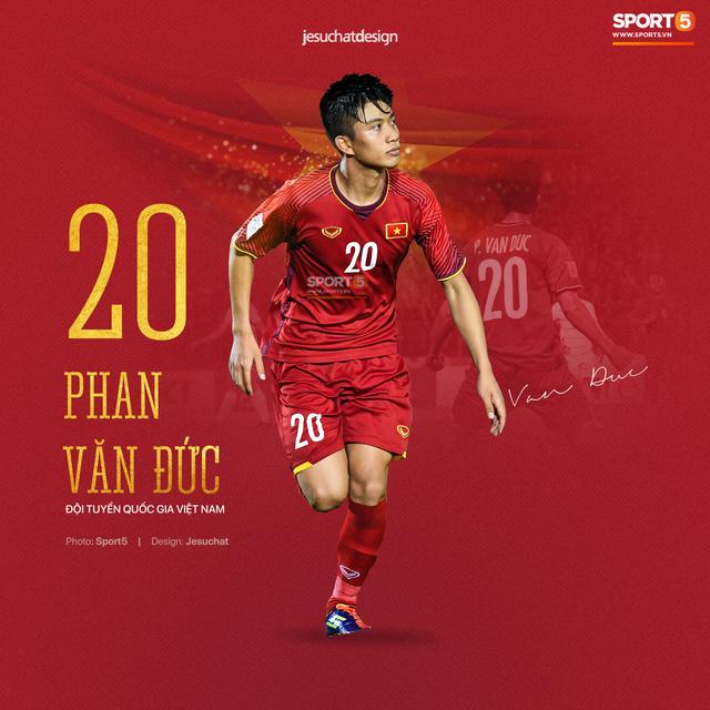 Info long lanh của 23 nhà vô địch AFF Cup 2018, những người hùng dân tộc - Ảnh 7.