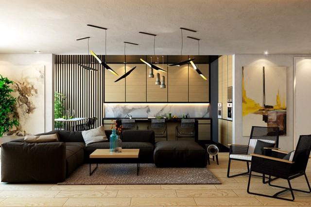 Ngôi nhà tuyệt đẹp nhờ chọn tường làm từ nan gỗ - Ảnh 2.