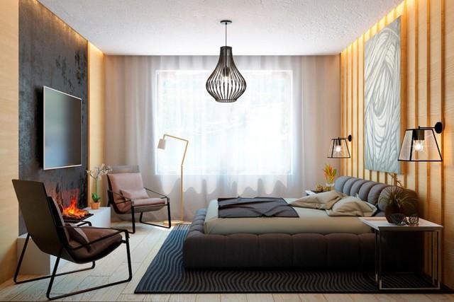 Ngôi nhà tuyệt đẹp nhờ chọn tường làm từ nan gỗ - Ảnh 11.