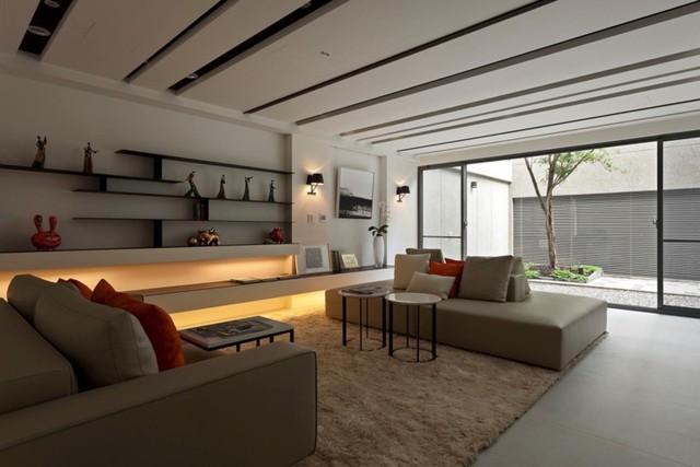 Phòng khách đẹp hiện đại, hấp dẫn người nhìn - Ảnh 14.