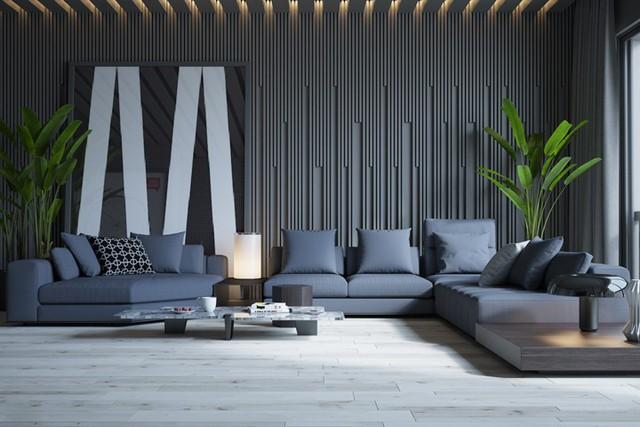 Phòng khách đẹp hiện đại, hấp dẫn người nhìn - Ảnh 3.
