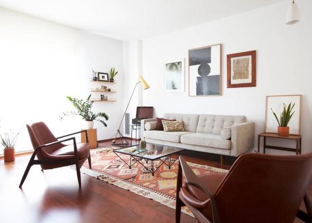 Phòng khách đẹp hiện đại, hấp dẫn người nhìn - Ảnh 8.