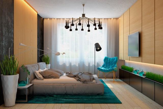 Ngôi nhà tuyệt đẹp nhờ chọn tường làm từ nan gỗ - Ảnh 9.