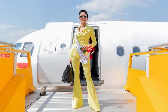 Những hình ảnh đẹp khó quên đưa HHen Niê tới kỳ tích top 5 Miss Universe: Từ bikini tới đầm sequin dạ hội, tất cả đều chinh phục trái tim người hâm mộ!  - Ảnh 5.