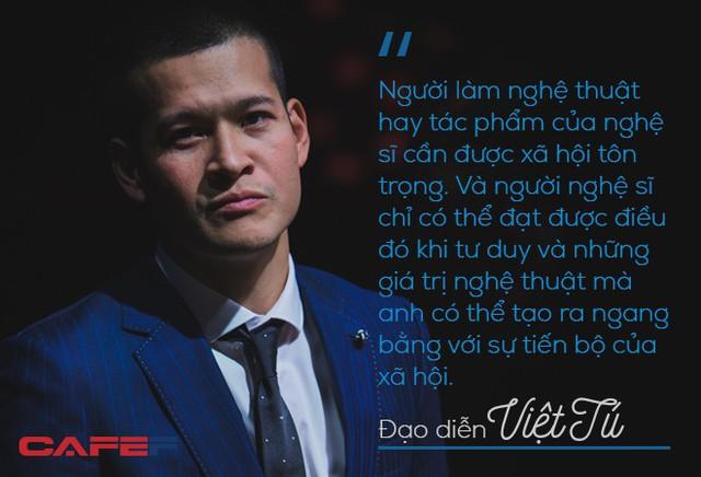 Đạo diễn Việt Tú: Thuyết phục nhà đầu tư xuống tiền hàng trăm tỷ không phải chuyện năm nay nghĩ, năm sau làm được luôn! - Ảnh 1.