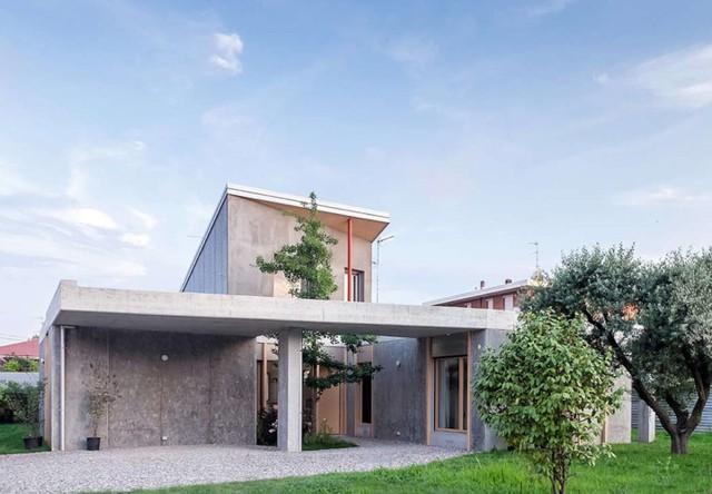 Ngôi nhà được xử lý để thông gió và đón nắng tốt - Ảnh 2.
