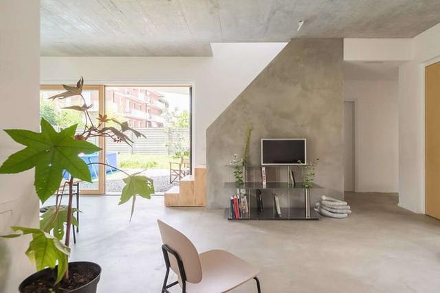 Ngôi nhà được xử lý để thông gió và đón nắng tốt - Ảnh 4.