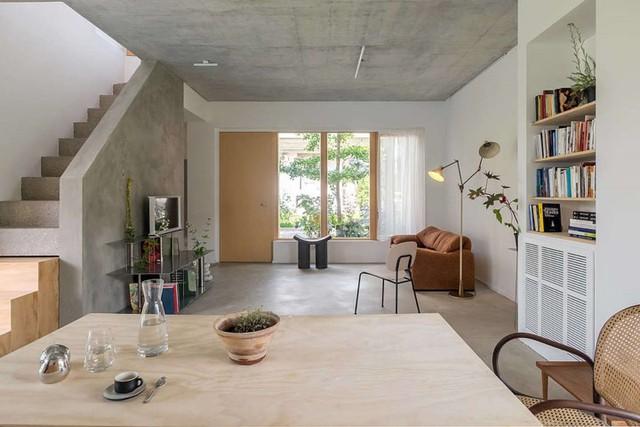 Ngôi nhà được xử lý để thông gió và đón nắng tốt - Ảnh 5.