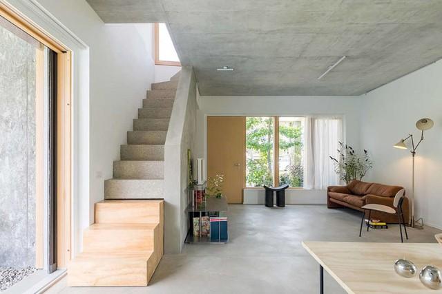 Ngôi nhà được xử lý để thông gió và đón nắng tốt - Ảnh 8.