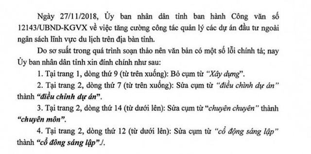 Khánh Hòa đính chính văn bản 'siết' chuyển nhượng dự án BĐS du lịch - Ảnh 1.