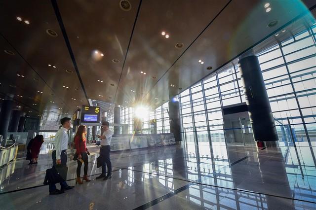 Chùm ảnh: Cận cảnh sân bay hiện đại nhất Việt Nam trị giá gần 8.000 tỷ đồng trước giờ khánh thành - Ảnh 6.