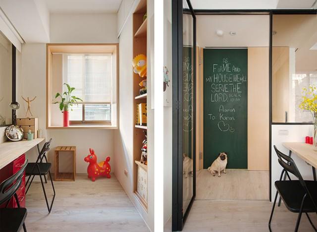 Căn hộ nhỏ có cách bố trí nội thất linh hoạt - Ảnh 8.