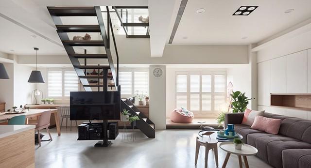 Ngôi nhà rộng 165 m2 sơn màu trắng tinh tế - Ảnh 3.