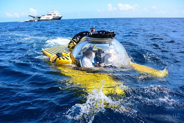 Thú chơi độc mới xuất hiện của giới siêu giàu: Du lịch thế giới đại dương bằng tàu lặn cao cấp với giá tới 40 triệu USD - Ảnh 1.