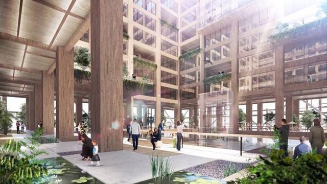 Nhật Bản lên kế hoạch xây tòa nhà chọc trời bằng gỗ cao nhất địa cầu - Ảnh 3.