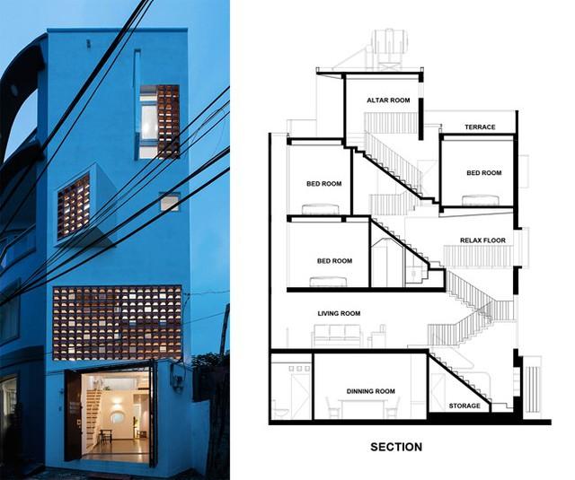 Nhà 43m2 méo mó giữa Sài Gòn xuất hiện ấn tượng trên báo Mỹ - Ảnh 20.
